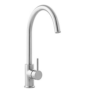 Arras Monobloc Swan Neck Basin Mixer Chrome