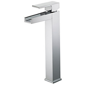 Bristan Arinto Tall Basin Mixer Tap Without Waste Chrome