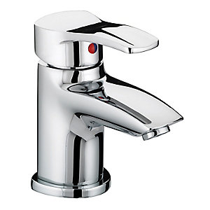 Bristan Capri Basin Mixer Tap With Pop Up Waste Chrome