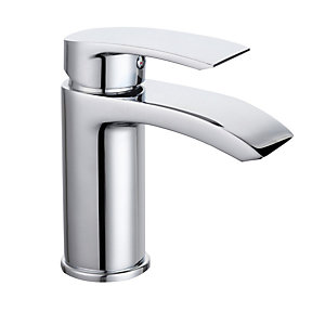 Bristan Glide Basin Mixer without Waste Chrome