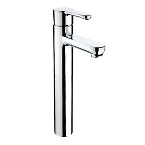 Bristan Nero Tall Basin Mixer Tap Chrome