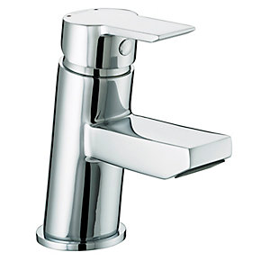 Bristan Pisa Basin Mixer Tap with Clicker Waste Chrome