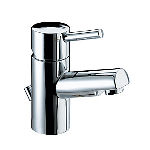 Bristan Prism Basin Mixer Tap & Eco-click Waste Chrome