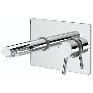 Bristan Prism Single Lever Wall Mounted Basin Mixer Tap Chrome