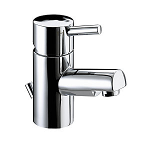 Bristan Prism Small Basin Mixer Tap With Pop Up Waste Chrome