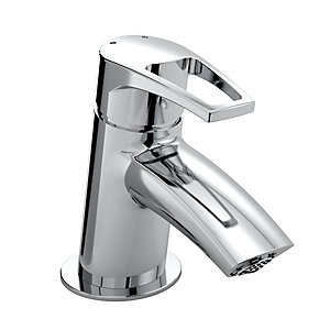 Bristan Smile Small Basin Mixer Tap Chrome