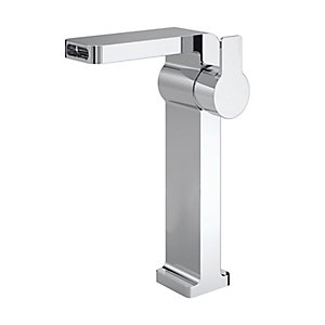 Elvira Tall Basin Mixer Chrome