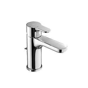 Roca L20 Basin Mixer Tap and Pop Up Waste