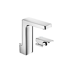 Roca L90 Deck-mounted Basin Mixer Tap with Pop-up Waste