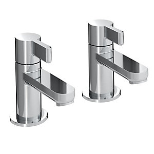 Bristan Clio Basin Taps Chrome