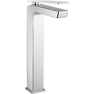 Crosswater Zero 3 Tall Basin Mixer Chrome