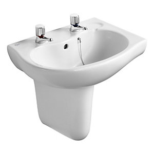 Ideal Standard Alto/ Space Semi Pedestal White E750201