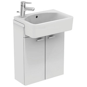 Ideal Standard Cube 50cm 1TAP Holelh Semi Countertop Basin