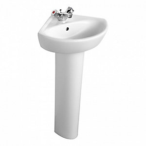 Ideal Standard E897601 Sandringham 21 Full Pedestal White
