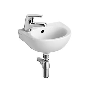 Ideal Standard Sandringham 21 Handrinse Basin 1 Tap Hole Left Hand 350 x 260 mm E892901