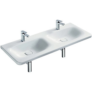 Ideal Standard Tonic II Vanity Double Basin 1200 x 500mm 2TH No Overflow K087001