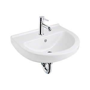 Vitra S50 Round Basin 550 x 550 mm 1 Tap Hole 5301L003-0999