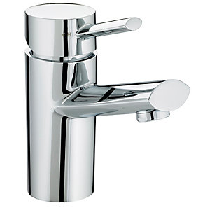 Bristan Oval 1 Hole Chrome Bath Filler Tap Chrome