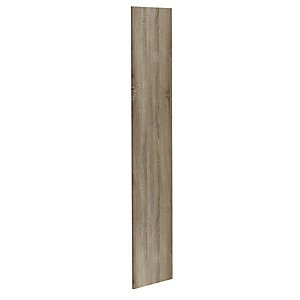Atlanta 1792x360x15 Tall End Panel - Truffle
