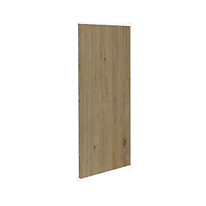 Atlanta 820x360x15 End Panel - Natural Oak