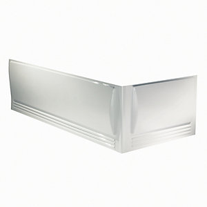 Twyford Omnifit 1700mm Bath Panel - White