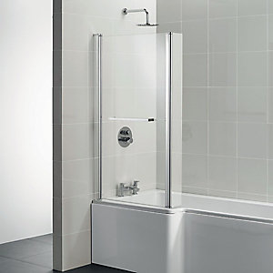 Ideal Standard Tempo Cube Shower Bath Screen 1400 x 830 mm E2597EO
