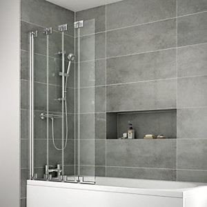 iflo Edessa 4 Fold Bath Screen