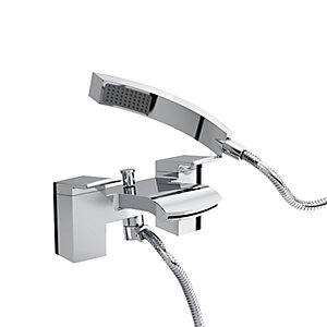 Bristan Dorona Bath Shower Filler Mixer Tap Chrome