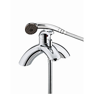 Bristan Java Single Lever Bath Shower Mixer Chrome