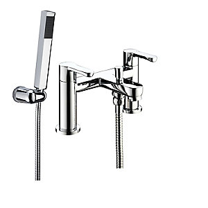 Bristan Nero Bath Shower Mixer Tap Chrome
