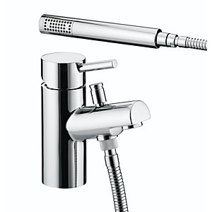 Bristan Prism 1 Hole Bath Shower Mixer Chrome