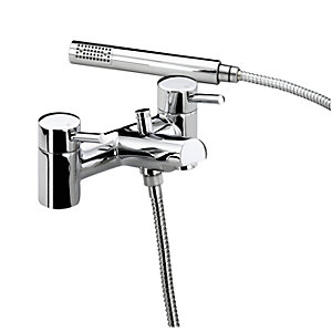 Bristan Prism Bath Shower Mixer Tap Chrome