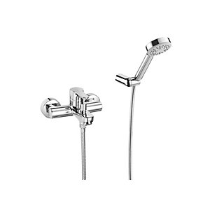 Roca L20 Wall Mounted Bath Shower Mixer Tap and Kit