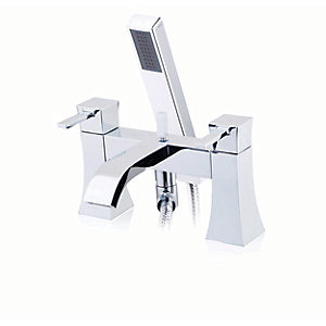 iflo Emila Bath Shower Mixer Tap Brass