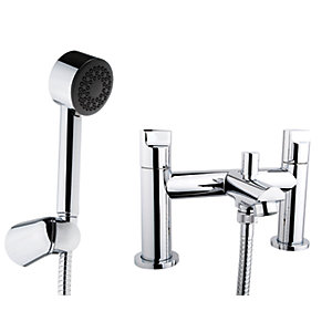iflo Spa Bath Shower Mixer Tap Brass