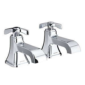 Garrido Bath Taps Chrome