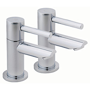 iflo Aura Bath Taps Chrome