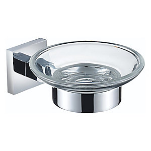 Bristan Square Soap Dish Chrome SQ DISH C