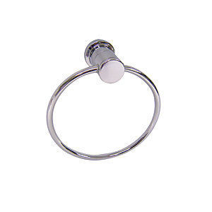 iflo Henley Towel Ring Chrome Effect