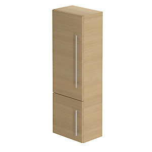 Be Modern Atlanta Modular Storage Unit Light Oak 1200 x 400 x 225 mm MS40LOLO