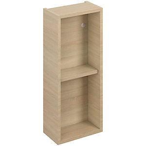 iflo Aliano Open Wall Unit 300x190 mm Oak