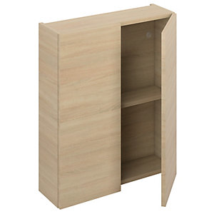 iflo Aliano Wall Unit Oak Including 2 Doors 600 x 190 mm