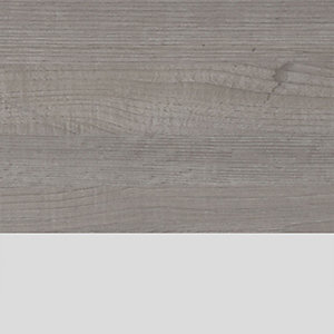 Ideal Standard Philosophy Worktop 1000mm Wood Light Grey & Matt White for Vessel Installation E1718UK