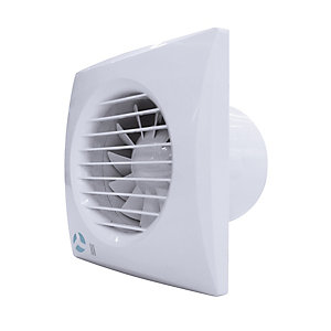 Airflow Aria 100mm Concealed Quiet Fan With Timer