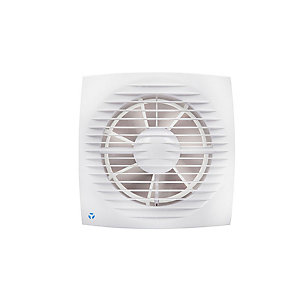 Airflow Aura Eco 100mm Budget Toilet Fan with Timer