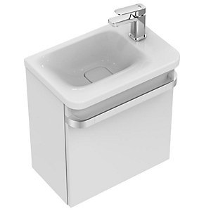 Ideal Standard Basin Unit 1 Right Hand Drawer 450mm - Gloss White