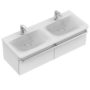 Ideal Standard Tonic II Basin Unit 1200mm 2 Drawer - Gloss White