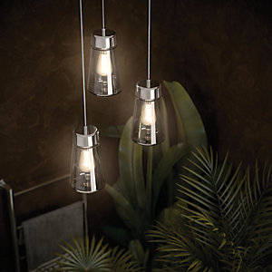 Hib Summit LED Bathroom Pendant Light