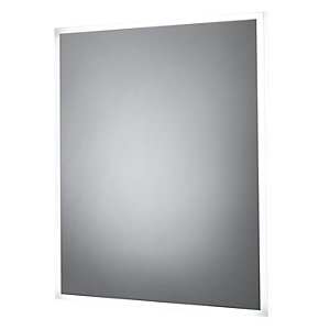 iflo Solas LED Dimmable Bathroom Mirror 600 x 500mm