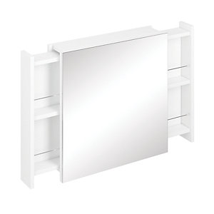 iflo Teramo Bathroom Mirror White 600mm
